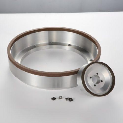Resin bond diamond wheel for carbide insert grinding