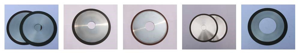 Resin bond cut off wheel